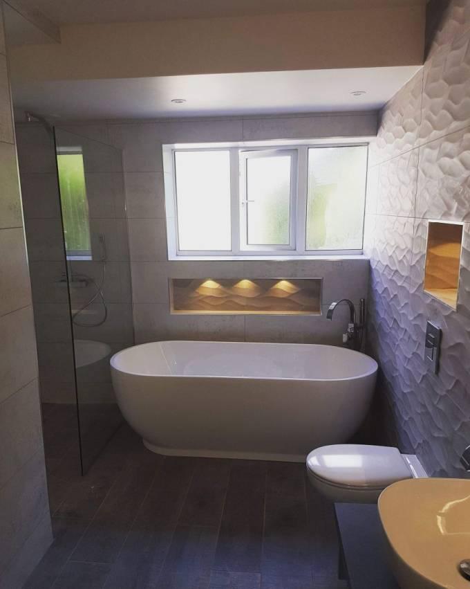 Bathroom Refit - Cheadle - Gas North West Ltd